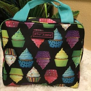 Betsey Johnson insulated lunch bag